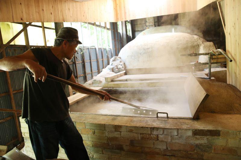 萩の塩(平釜炊き海塩)