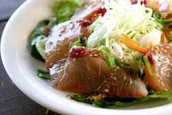 中華風刺身サラダ