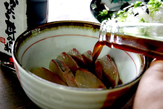 須佐の漁師のまかない丼のたれ